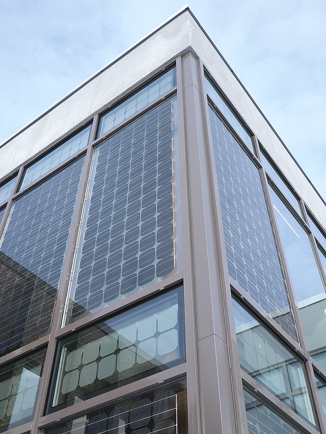 Building Systems For Solar Glazing