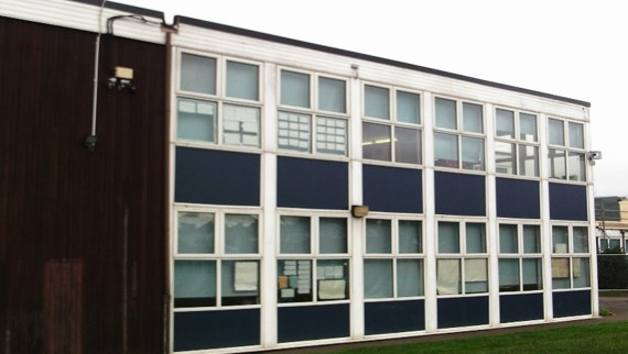 Outside of Jubilee Academy, Walsall - Sapa Refurbishment Project