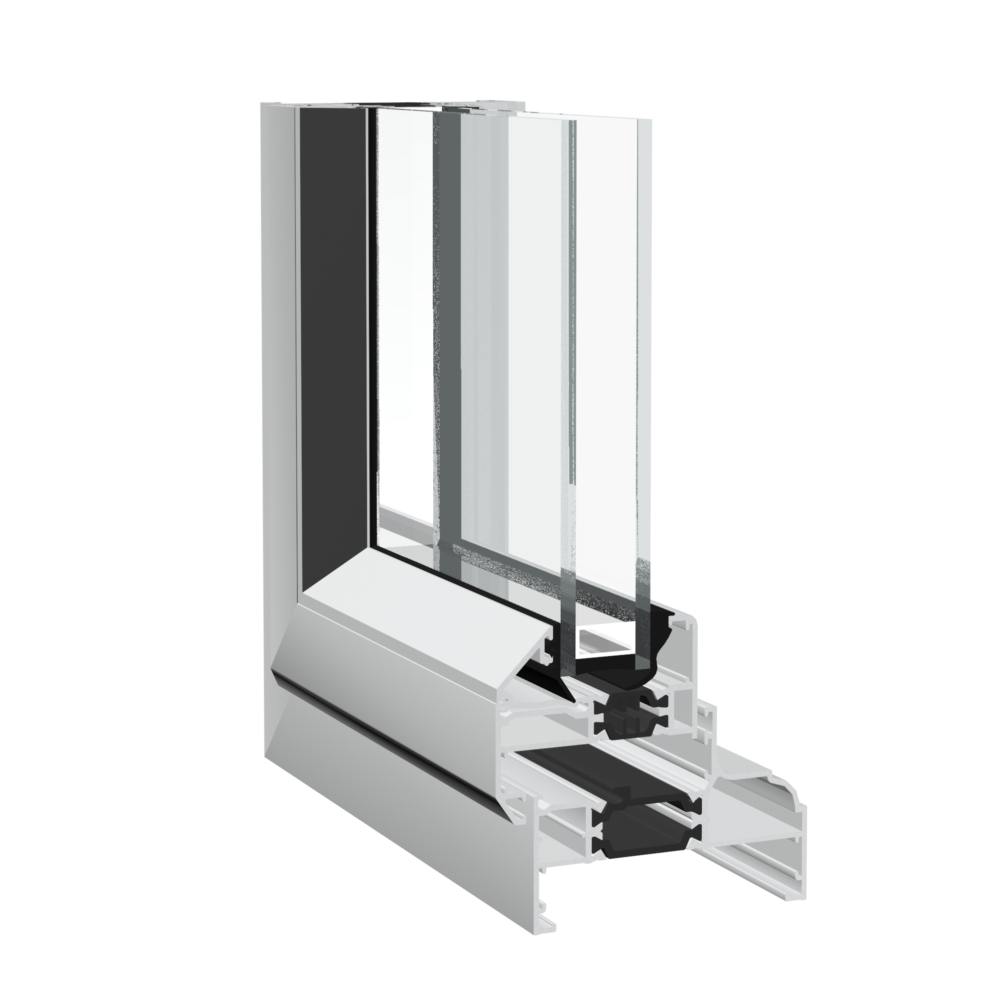 Crown aluminium casement window from Sapa