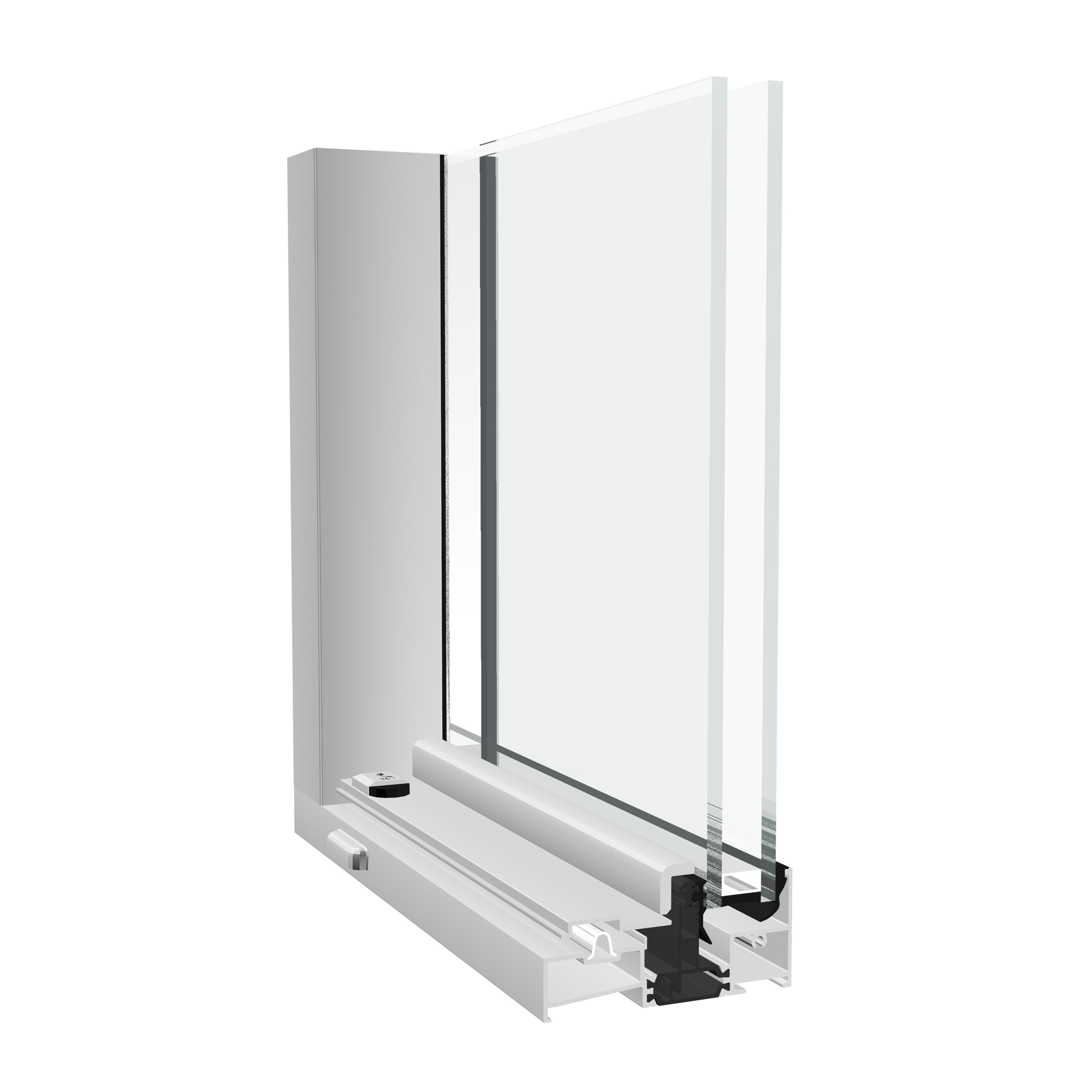 Crown aluminium patio door from Sapa
