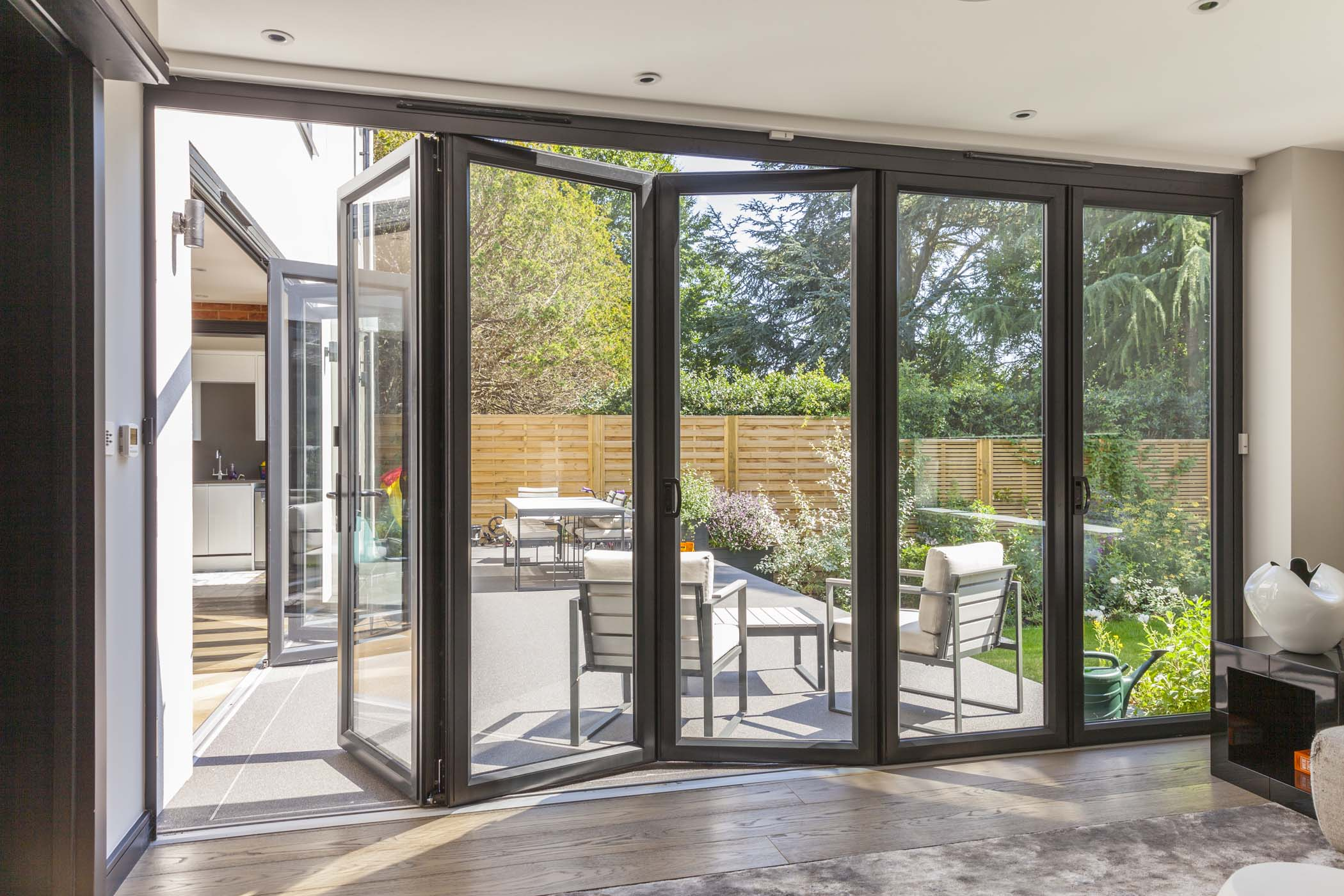 Crown Sliding Folding & Sliding Folding Aluminium Doors - Sliding Door Designs